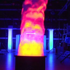 Alquiler de llama simulada para eventos