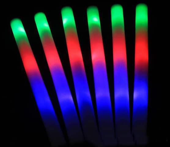 palo led tricolor